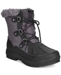 Bearpaw Bethany Lace Up Waterproof Cold Weather Booties Women's Shoes