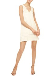Sanctuary Women's Scarlett Eyelet Embroidered A Line Dress White