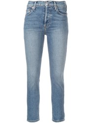 Re Done Skinny Jeans Blue