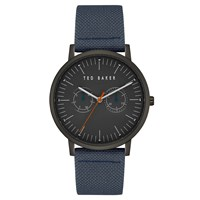 Ted Baker Te50274004 Men's Brit Fabric Strap Watch Blue Black