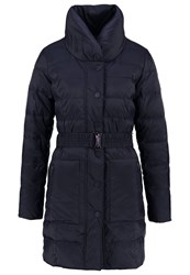 More And More Down Coat Marine Dark Blue