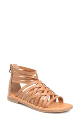 Women's Kork Ease 'Palmyra' Gladiator Sandal Rust Leather