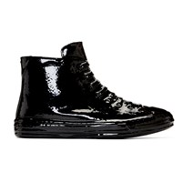 Maison Martin Margiela Black Stereotype High Top Sneakers