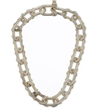 Parts Of Four Deco Link Necklace Ultra Acid Silver