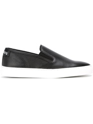 Les Artists Les Art Ists Slip On Sneakers Black
