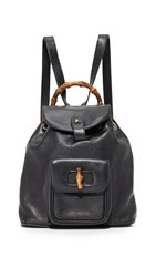 Wgaca Gucci Mini Backpack Previously Owned Black