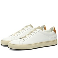 Common Projects Retro Low Special Edition White