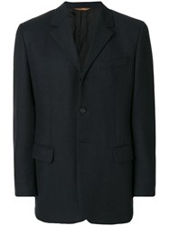 Romeo Gigli Vintage Single Breasted Jacket Blue