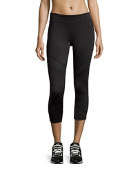 Neiman Marcus Capri Leggings Black