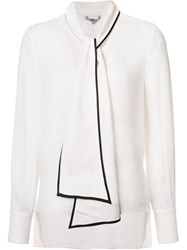 Zac Posen 'Francesca' Blouse White