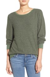 Wildfox Couture Women's Wildfox 'Baggy Beach Jumper' Pullover Pine