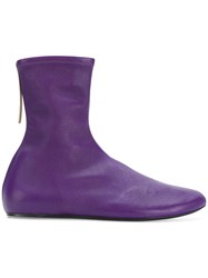 Kenzo Ankle Boots Pink And Purple