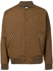 Kent And Curwen Bomber Jacket Cotton Polyester Xxl Brown