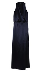 Tibi Serpentine Long Draped Dress
