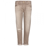 True Religion Audrey Slim Boyfriend Jeans Brown