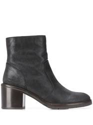 Chie Mihara Grain Ankle Boots Black