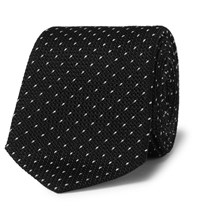 Paul Smith 6Cm Polka Dot Silk Tie Black