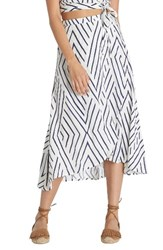 Billabong Women's Time Again Woven Midi Skirt