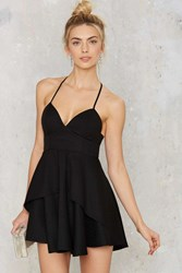 Nasty Gal Spin Me Round Plunging Dress