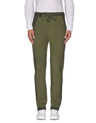Happiness Trousers Casual Trousers Men Military Green