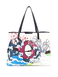 Mary Katrantzou O Melina Coated Canvas Tote