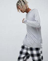 Your Turn Yourturn Ribbed Jumper In Grey Light Grey