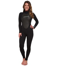 O'neill Epic 4 3 Black Black Black Women's Wetsuits One Piece