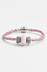 Pandora Design Breast Cancer Awareness Charm Bracelet Set Pink