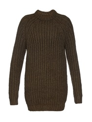 Nlst Fisherman Ribbed Knit Sweater Dress