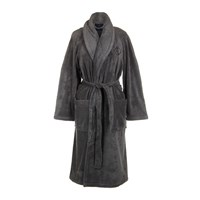 Ralph Lauren Home Langdon Bathrobe Charcoal Grey