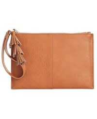 Inc International Concepts Concept Alexa Party Pouch Only At Macy's Cognac