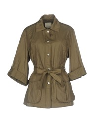 Gold Case Coats And Jackets Overcoats Military Green