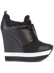 Ruthie Davis Tech Sneakers Black