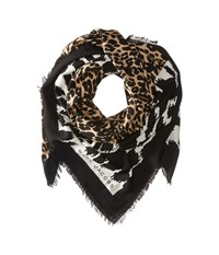Marc Jacobs Dotted Leopard Stole Bone Multi