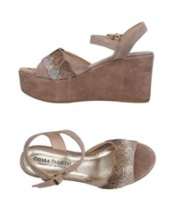 Chiara Pasquini Sandals Dove Grey