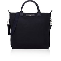 Want Les Essentiels Men's O'hare Shopper Tote Black Navy Black Navy