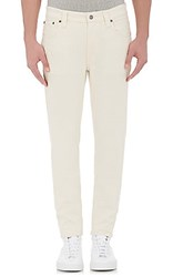 Nudie Men's Lean Dean Jeans Cream White