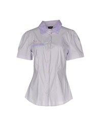 Richmond Denim Shirts Lilac