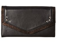 The Sak Sanibel Travel Wallet Black Wallet Handbags