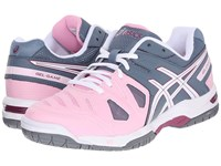 Asics Gel Game 5 Cotton Candy White Plum Women's Tennis Shoes Pink