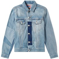 Acne Studios Vintage Patch 1998 Denim Jacket Blue