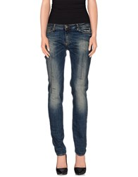 Magazzini Del Sale Denim Denim Trousers Women Blue