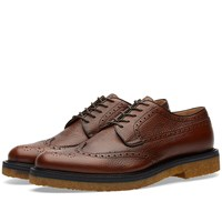 Dries Van Noten Crepe Sole Brogue Brown