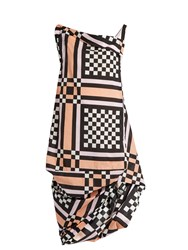 Vivienne Westwood Tube Nomad Checked Cotton Dress Multi