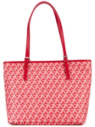 Lancaster Ikon Tote Women Leather One Size Red