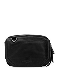 Liebeskind Maike W Leather Crossbody Bag Black