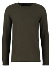 Only And Sons Onssam Jumper Forest Night Oliv