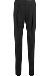 Iro Cameo Stretch Crepe Tapered Pants Black