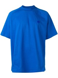 Acne Studios Oversized T Shirt Blue