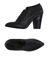 Janet And Janet Footwear Lace Up Shoes Women Black